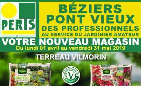 Offre promotionnelle magasin PERIS du Pont Vieux