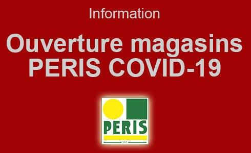 Ouverture des magasins PERIS