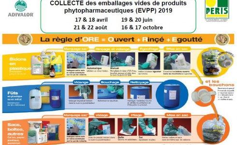 Collecte des EVPP 2019